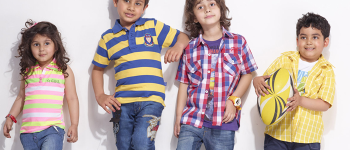 Kids fashionable trends